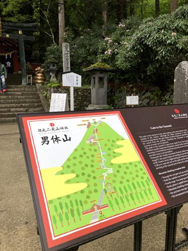 日光二荒山神社中宮祠は男体山の登山口